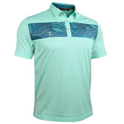 Short Sleeve Polo - Magnum IP - Jungle/Light Green