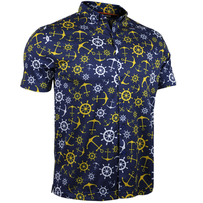 Short Sleeve Buttondown Polo - Tourist - Wanchors