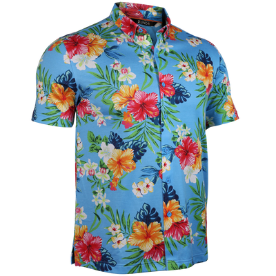 Short Sleeve Buttondown Polo - Tourist - Turks