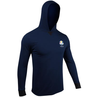 Ryder Cup Long Sleeve Hooded Tee - Dark Navy