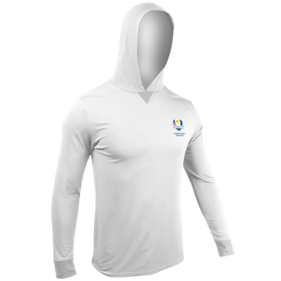 Ryder Cup Long Sleeve Hooded Tee - White