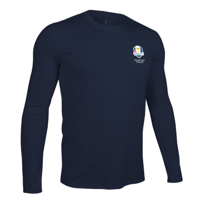 Ryder Cup Long Sleeve Crew Tee - Dark Navy