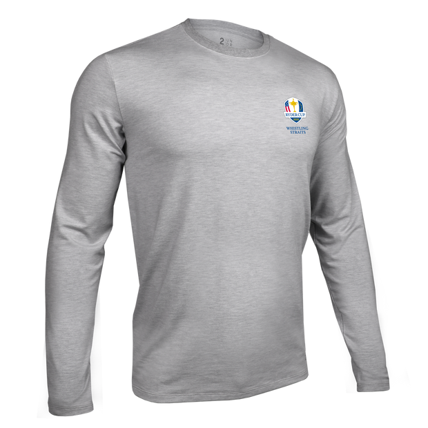 Ryder Cup Long Sleeve Crew Tee - Grey