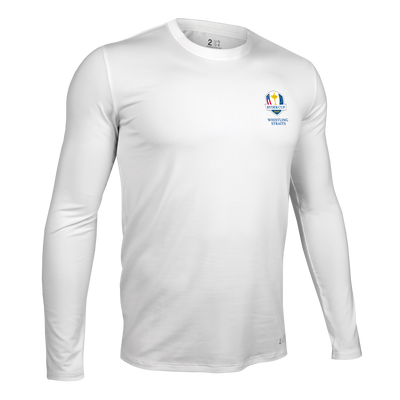Ryder Cup Long Sleeve Crew Tee - White