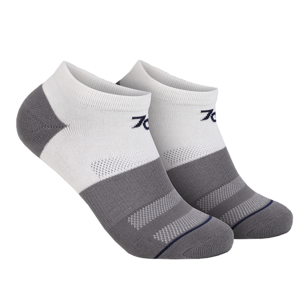 70 Ankle Sock - White/Grey