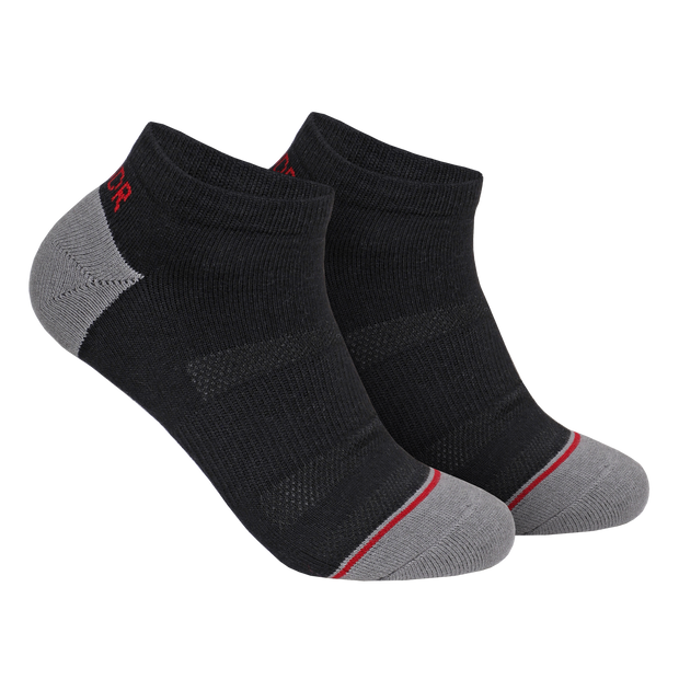 Groove Ankle Sock 3 Pack - Black