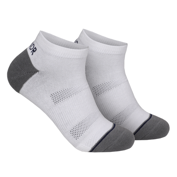 Groove Ankle Sock 3 Pack - White