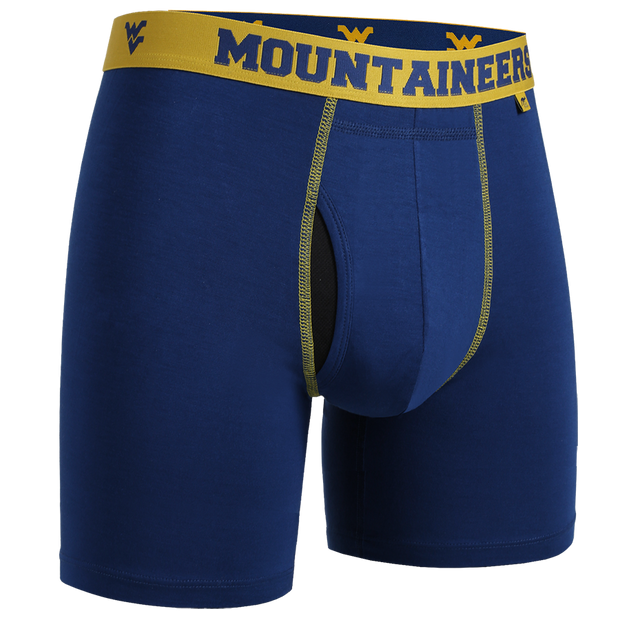 Swing Shift Boxer Brief - WVU Navy