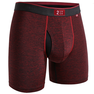 Night Shift Boxer Brief -  Wine