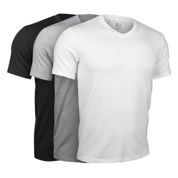 V Neck Tee - Basics 3 Pack