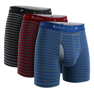 Day Shift Boxer Brief - Stripes 3 Pack