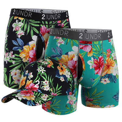 Swing Shift Boxer Brief - Kona - Turks Combo Pack