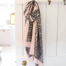 Load image into Gallery viewer, Leopard Print Scarf, Pink