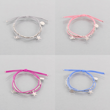 Load image into Gallery viewer, Gracie Star Bracelet Silver, Available in Four Colours