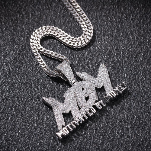 Motivated By Money Design Pendant - MCSHXP
