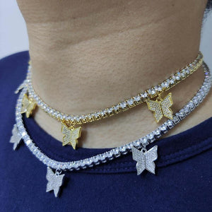 Butterfly Tennis Chain
