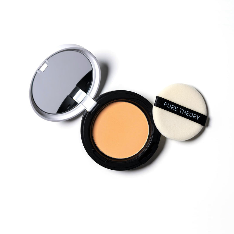 Pure Theory Pressed powder product banner natural beige