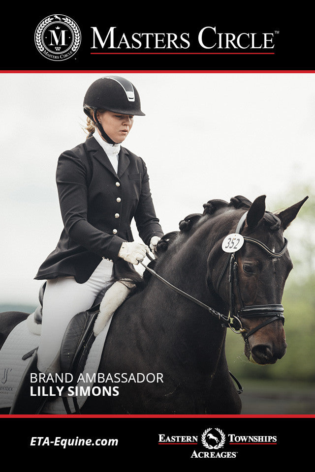 Up and Coming JR Rider Lilly Simons Joins Masters Circle as Brand Ambassador