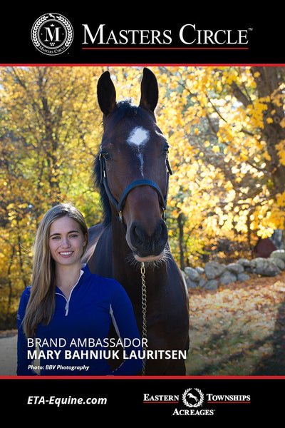 ETA-Equine Signs Mary Bahniuk Lauritsen as Masters Circle Brand Ambassador