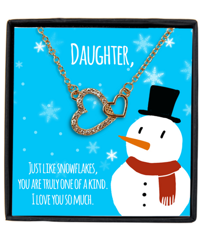 To My Daughter-Just Like Snowflakes