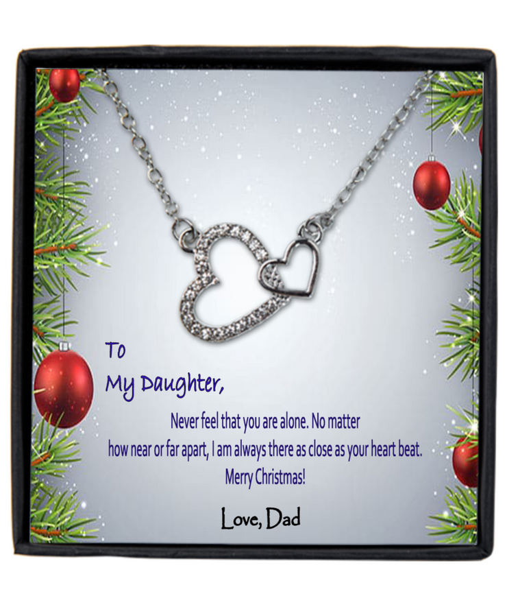 To My Daughter I Am Always Close As Your Heartbeat - Love Dad