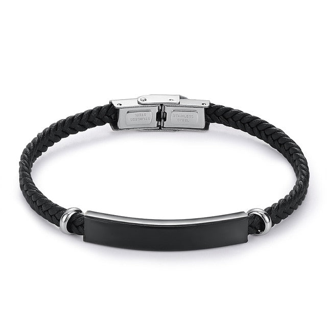 Personalized Name Stainless Steel Bracelet