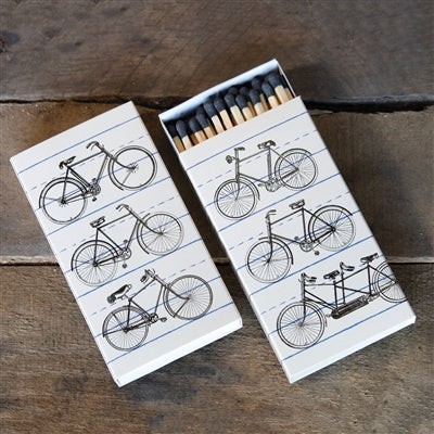 bicycle matches display