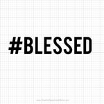 Blessed Free Svg Saying