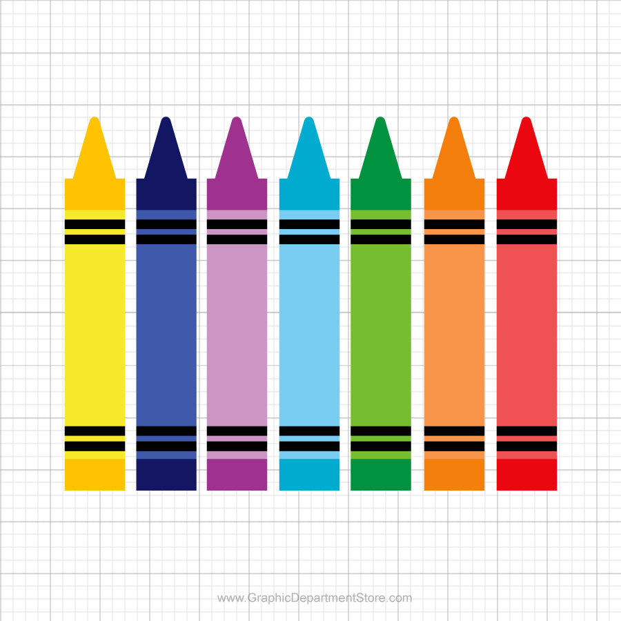 Crayons Svg Clipart