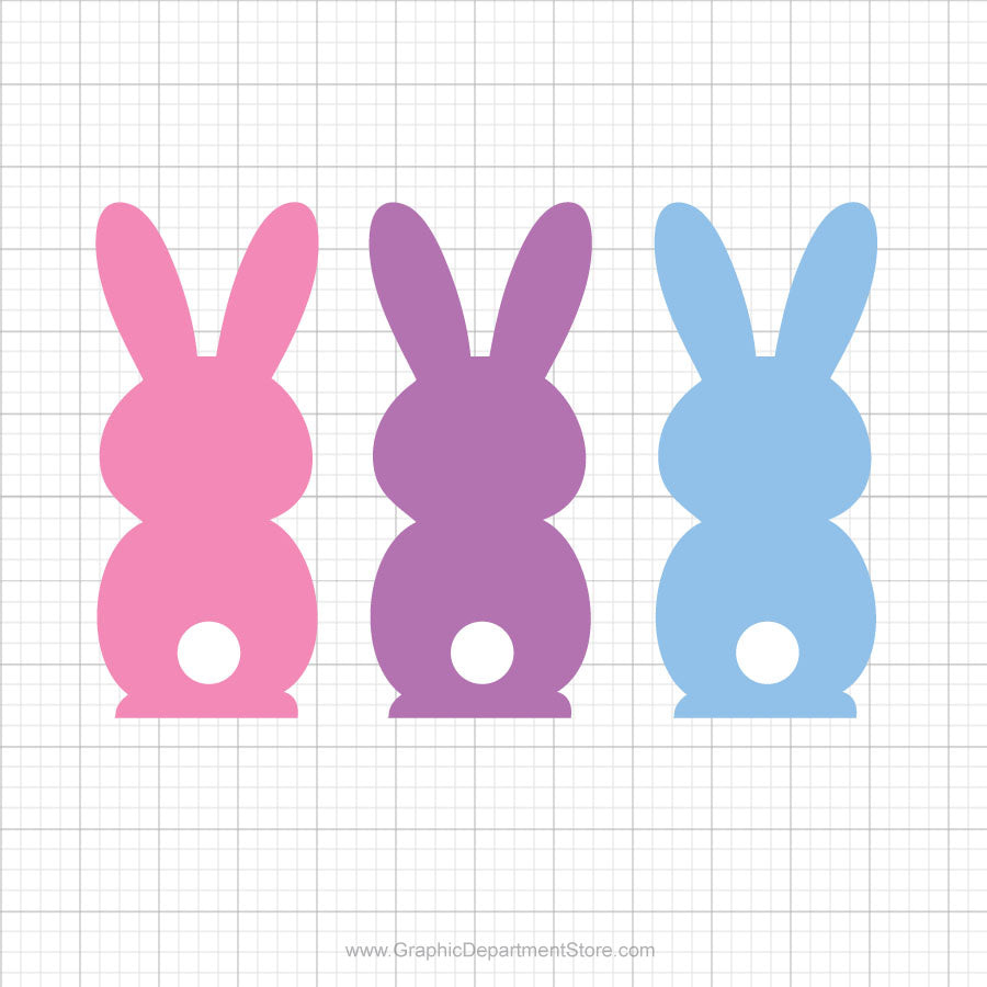Easter Bunny Svg Clipart