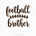 Football Brother Svg Saying