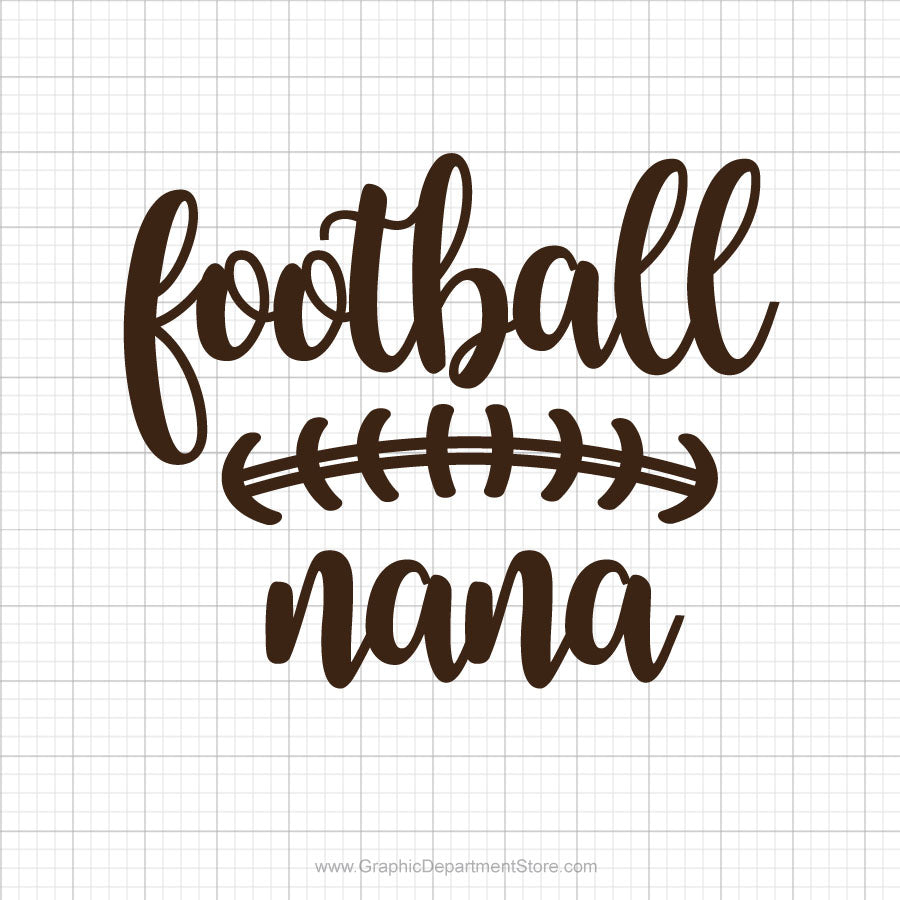 Football Nana Svg Saying