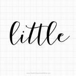 Little Sorority Reveal Svg Saying