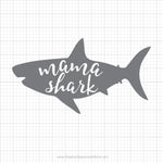 Mama Shark Svg Saying