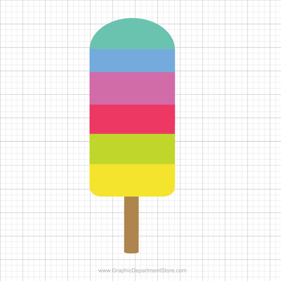 Popsicle Free Svg Clipart