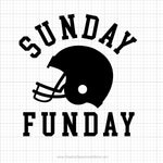Sunday Funday Svg Saying