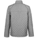 Pierre Cardin Mens Diamond Quilted Jacket with Herringbone Tape Detail
