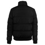 Pierre Cardin Mens Warm Padded Bomber Jacket with Herringbone Tape Trim