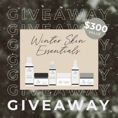 GIVEAWAY TIME! Enter to WIN - ReLiv Organics Winter Skin Care Essentials