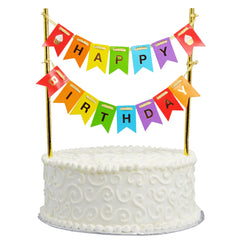 Cake Bunting – Happy Birthday