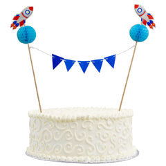 Cake Bunting – Space Theme