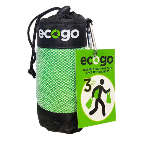 EcoGo – 3-in-1 Reusable Shopping Bag System