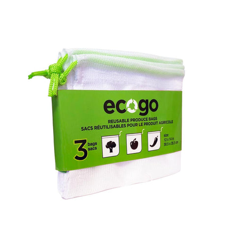 EcoGo – Reusable Produce Bags (3-pack)
