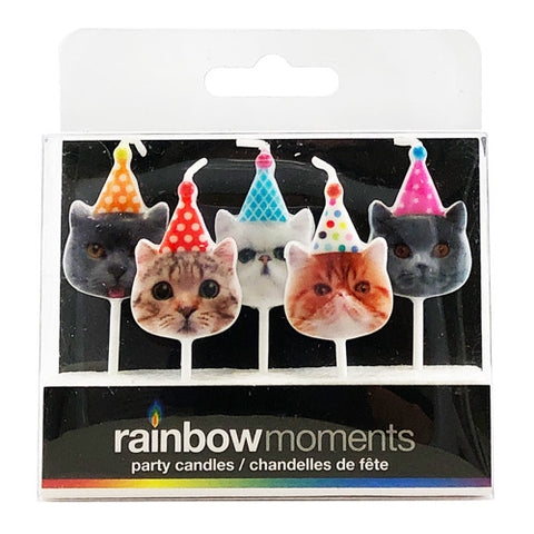 Party Cats Paraffin Shape Candles