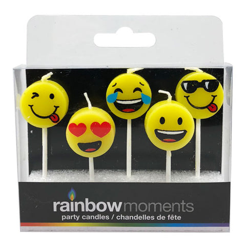 Emojis Paraffin Shape Candles