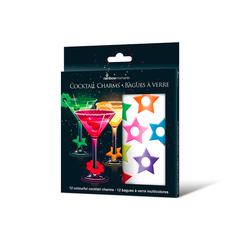 Colorful Cocktail Charms