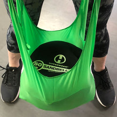 EcoGo Reusable bags are made of woven high density polyester cloth, each bag will hold up to 50lbs, yet stuffs away easily into small pouch for storage