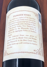 "Load image into Gallery viewer, Cabernet Franc 2013, ""Pioneer Label"""