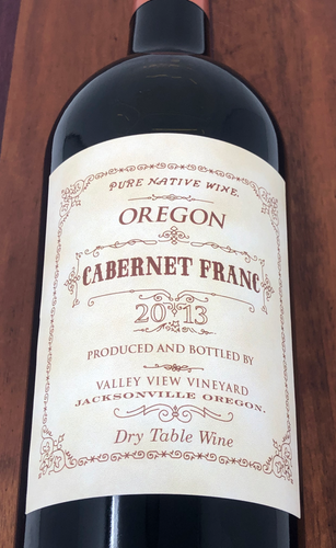 valley view cabernet franc 2013