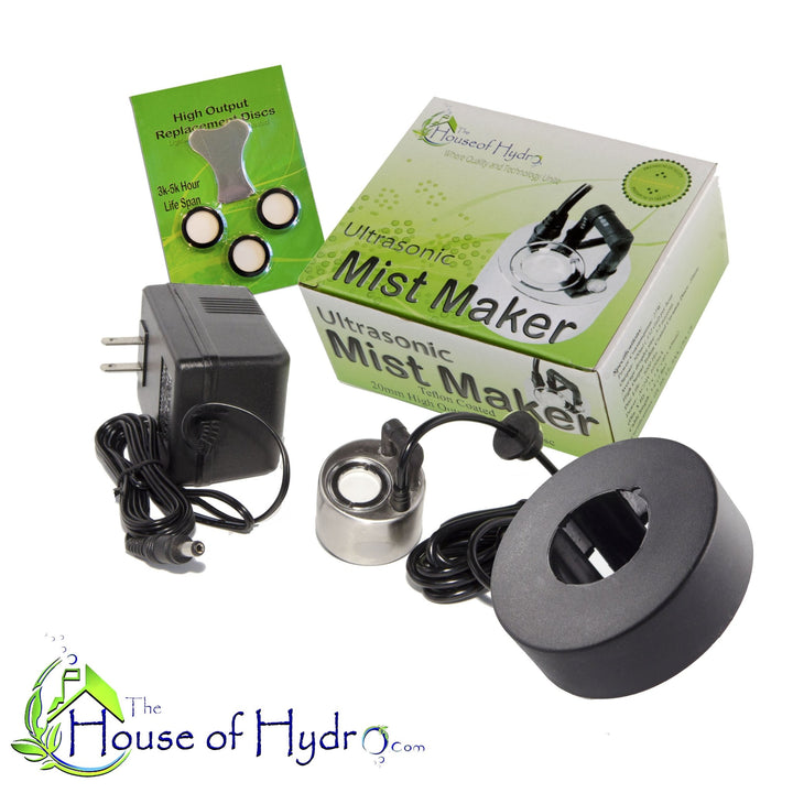 1 Disc Mist Maker with Float and Spare Discs - The House of Hydro